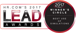 HR.com's 2017 Lead Awards 2017 Winner's Circle Best Use of Simulations