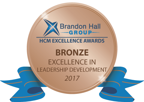 Brandon Hall Group HCM Excellence Awards Bronze Excellence in Leadership Development 2017