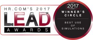 HR.com's 2017 LEAD Award Best Use of Simulations