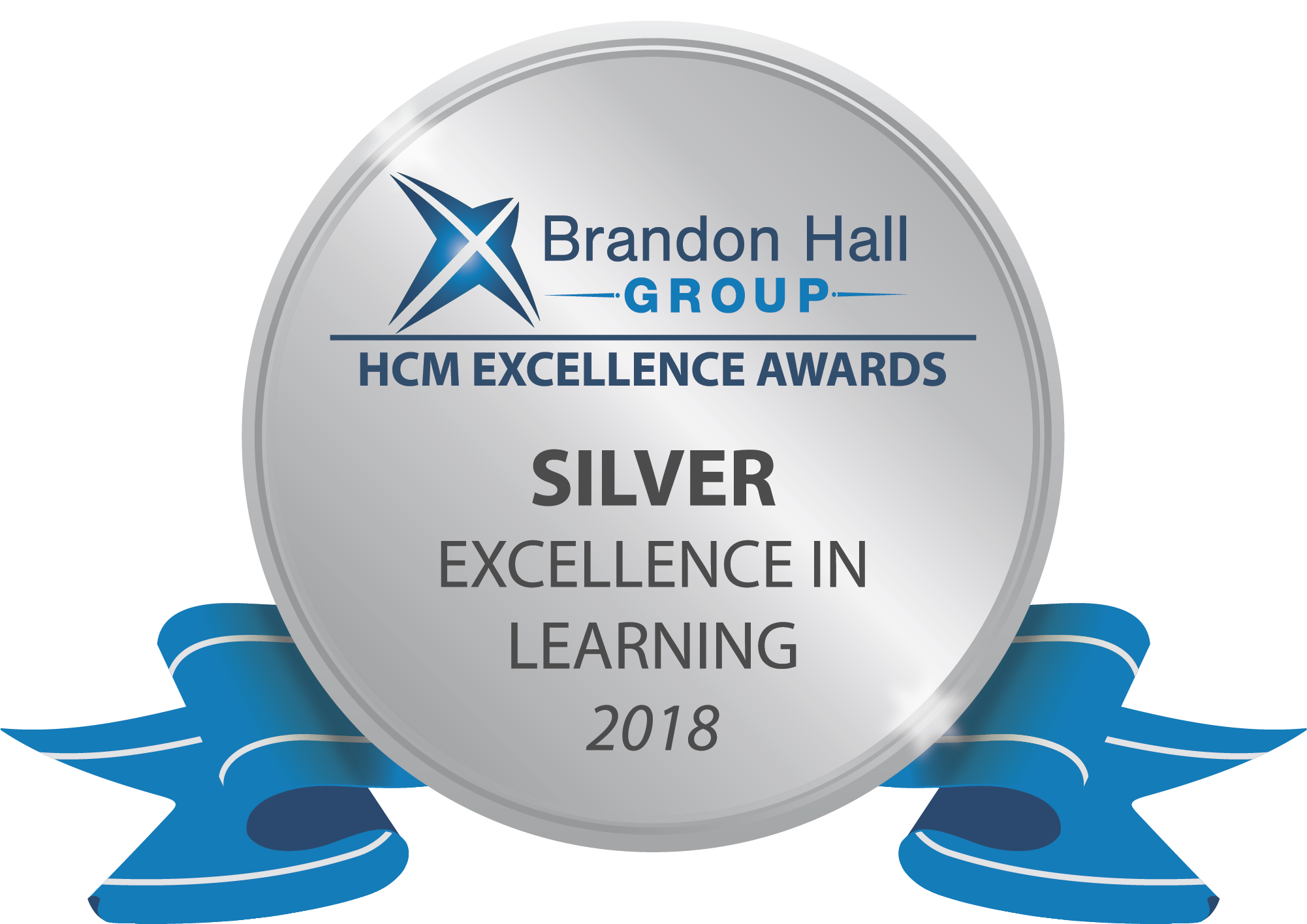 Brandon Hall Group HCM Excellence Awards Silver Excellence in Learning 2018